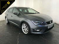 2014 64 SEAT LEON FR TDI ESTATE DIESEL 1 OWNER SERVICE HISTORY FINANCE PX