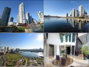 2br-1100 ft2 -Luxury 2 Bed + Den Furnished in Downtown with view
