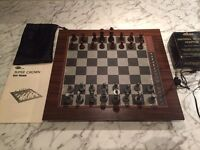 Rare 1970's electronic chess set - Super Crown