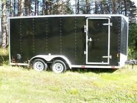 2014 16 Ft + 2 ft V 7 Ft wide double axle with brakes