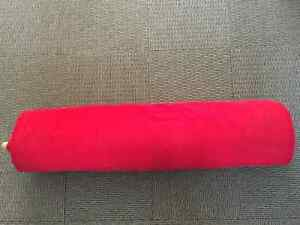 Red fabric on roll. Kitchener / Waterloo Kitchener Area image 2