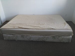 King size mattress, box spring! Last Chance! Only 1 DAY left!