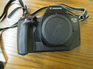 Canon EOS  650 film camera excellent shape with 28-70 lens