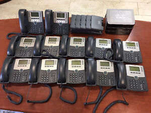 Cisco telephone system with 13 phones