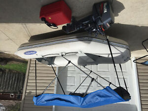 2008 West Marine inflatable and Yamaha 2000 8hp motor