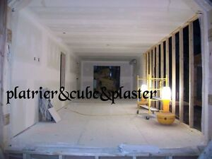 platrier tireur de joints drywall bording