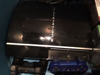 PS3 160GB, 2 controllers, and 30+ games incl. greatest hits!
