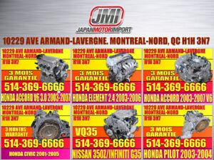 2001 2002 2003 2004 2005 Transmission automatique Honda Civic