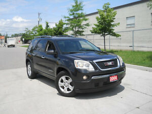 2008 GMC Acadia 8 Passenger, Automatic, 3/Y warranty available