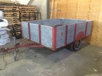 remorque trailer 6x8