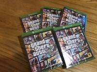 GTA V 5 Xbox One Brand New Sealed