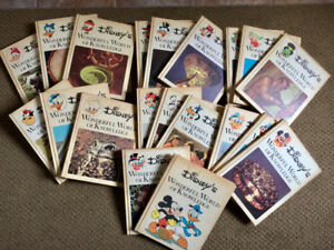 set of 20 DISNEY'S World of Knowledge from 1973
