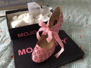 Brand new Pink Heels from Modcloth