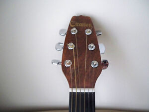 GUITAR CITATION ACUSTIC 6 STRING WITH CASE MINT CONDITION Stratford Kitchener Area image 3