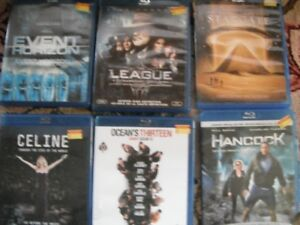 DVDs - 45 Blue Ray (2 new) one Thomas the Tank (used)