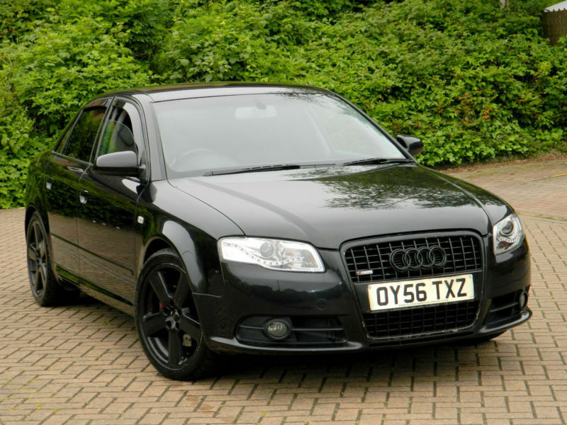 2006 56 audi a4 2 0 tfsi s line quattro 4dr with leather. Black Bedroom Furniture Sets. Home Design Ideas
