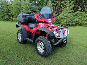 Pampered Honda ATV with Alot of Accessories