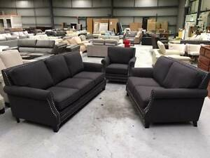 BRAND NEW MARY CARBON SOFA SET! SALE NOW ON! Richmond Yarra Area Preview