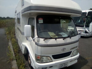 DIESEL 4x4  2000 Toyota 28' Motorhome very unique from Japan.