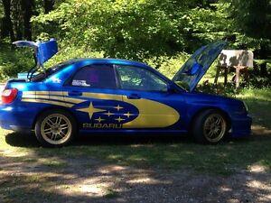 2002 Subaru Impreza WRX with JDM STi swap