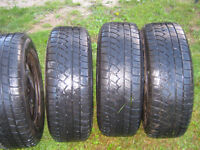 Set of 4, M & S. Winter Tires