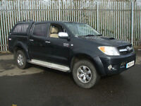 .2006/06.Toyota Hilux 3.0 4x4 double cab pick up