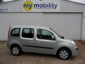 Renault Kangoo Expression Automatic Wheelchair Scooter Access WAV