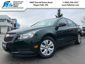 2014 Chevrolet Cruze 2LS  ONE OWNER, LOCAL TRADE,LOW KMS!!!