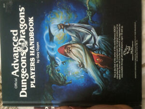 Very good condition retro dungeons and dragons books!