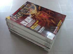 DRAGON  AND DUNGEON MAGAZINE LOT OF 70 TOTAL