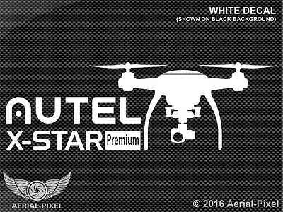 Autel X-Star Premium Window or Case Decal Sticker for UAV UAS Drone DJI Phantom