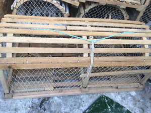 Lobster traps and materals