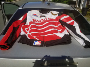 Mens large honda racing jacket