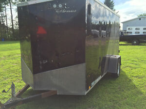 6'x12' + v-nose closed trailer