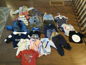 Boys Clothing Lot 6-12 months.