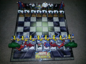 Marvel Heroes Chess Set-VERY RARE. MINT CONDITION ONLY 100$..... London Ontario image 3
