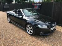 2009/59 Audi A5 2.0TFSI [211] S Line Convertible £0 Deposit Finance Big Spec