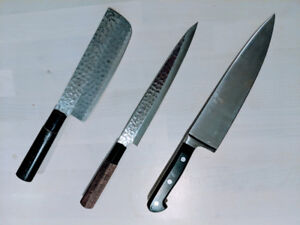 Chef's knife and Japanese knives