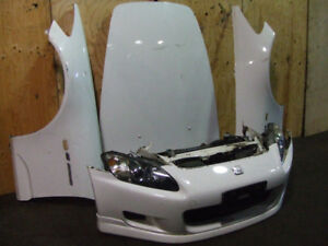 S2000 FRONT END NOSE CUT BUMPER HID HEAD LIGHTS HOOD FENDERS