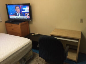 Furnished,includes utilities, wifi, tv in room, close to c-train