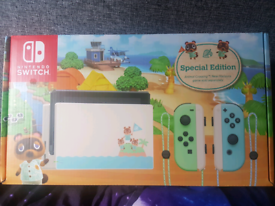 Animal Crossing Nintendo Switch (Unboxed)
