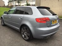 AUDI A3 BLACK EDITION 5 DOOR S LINE