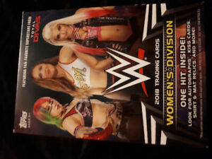 2018 WWE womens trading cards