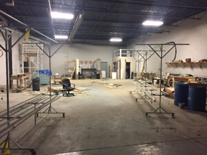 Well Managed Manufacturing or Warehouse Space