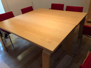 TWO LARGE OFFICE MEETING TABLES FOR SALE
