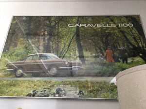 Poster Renault encadré