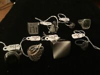 Great collection of sterling rings