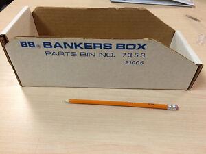 Banker box Parts Bins New