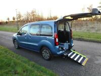 2013 Peugeot Partner 1.6 Hdi Auto Automatic WHEELCHAIR ACCESSIBLE VEHICLE WAV