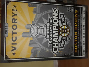 Cadre Boston Bruins Stanley cup 2011